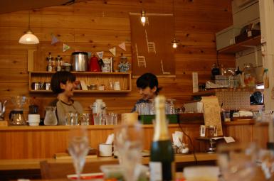 イサナ喫茶室 内観